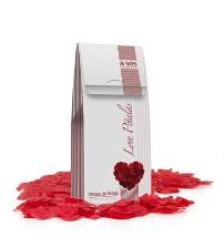 Love Pétalas A Sós Rosa Vermelha Perfumada