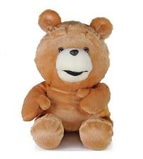 Urso Ted em Pelúcia antialérgica com compartimento Secreto