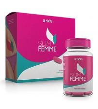 Programa Saudável de Gerenciamento de Peso Slim Femme - 60 cápsulas