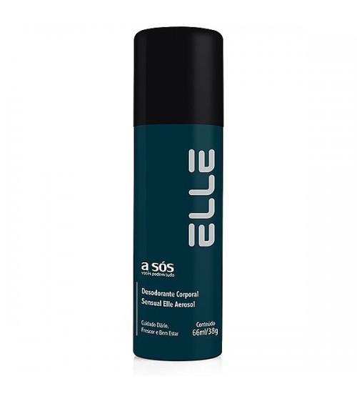 Desodorante Íntimo Elle - 66ml/38g